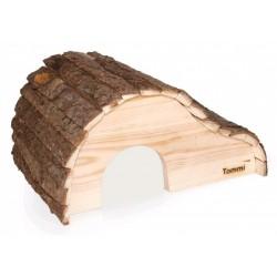 Tommi - domek pro hlodavce s kůrou