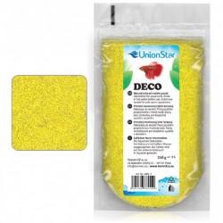 Akvarijní písek Betta DECO žlutý1 - 1,5mm, 240g vhodný do bittária