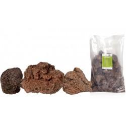 Lávové kameny červené, balení 20kg