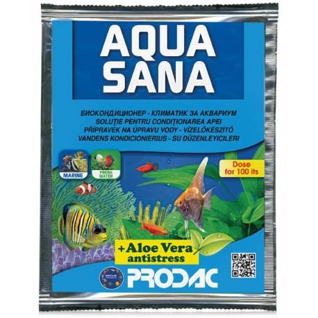 Přípravek na úpravu vody. Vhodný pro sladkovodního i mořská akvária.
