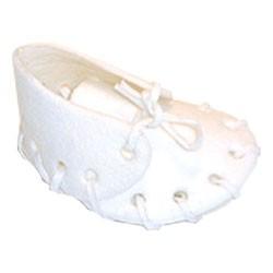 Botička bílá malá, 7,5cm - 25ks