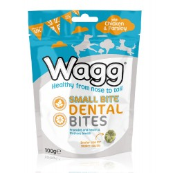Wagg Dental Small Bites Chicken&Parsle100g